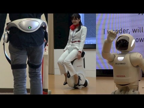 Honda s Robotics Technology
