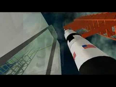 NASA History through Second Life