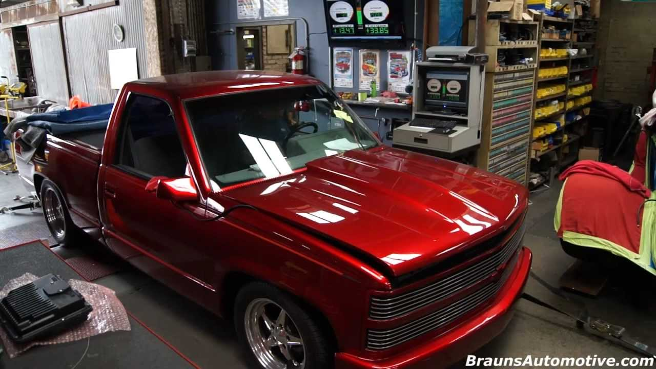 88 Supercharged Chevrolet Pickup Dyno Run Youtube