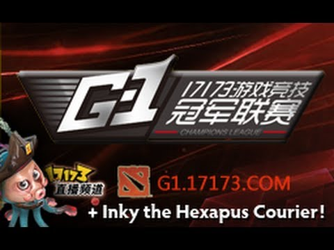 Dota 2 Store - Inky the Hexapus Courier - G-1 Champions League Season 5