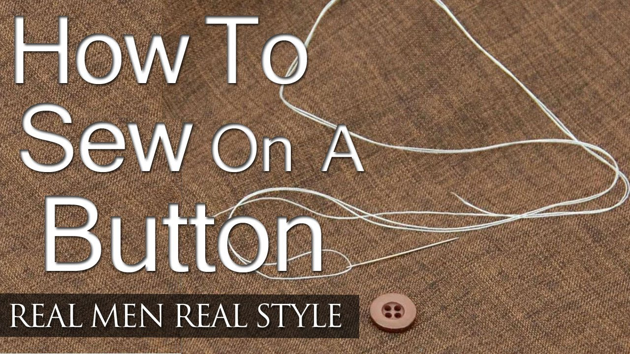 How To Sew On A Button - 5 Simple Steps