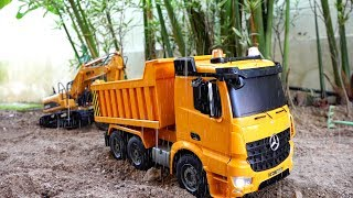 [30min] Kids Car Toy Video Excavator Power wheels Pretend Play Compilation Video