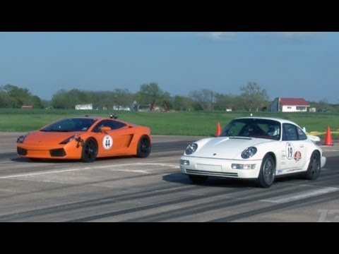 1300hp TT Porsche vs THREE 1550hp TT Lambos and a 1200hp TT Viper!