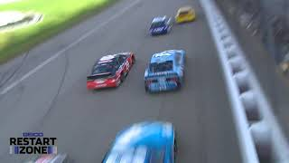 GEICO Restart Zone: Three- and four-wide at Michigan