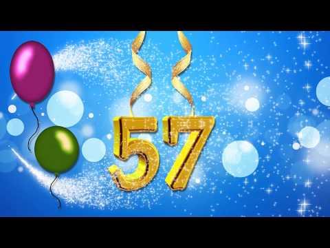Поздравление с 57 летием мужчине