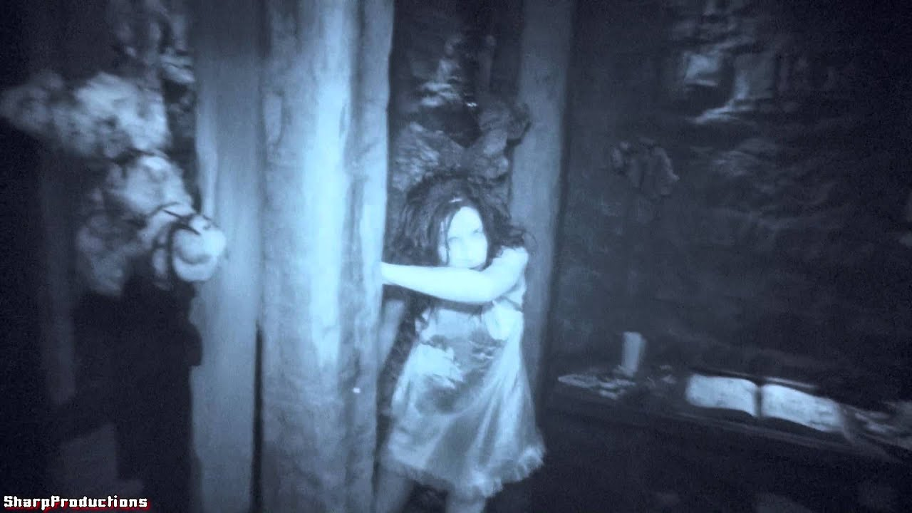 evil dead maze  nightvision  halloween horror nights 2013