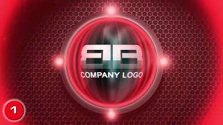 Create amazing logo reveal intro animation video, 10 Samples + Background Music included