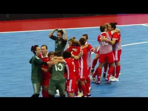 Студенческий ЧМ-2018. Женщины. 1/2 финала. Россия - Португалия - 1-1 (2-1 пенальти)