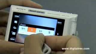 Sony Cybershot DSC-T70 Touchscreen Demo by DigitalRev