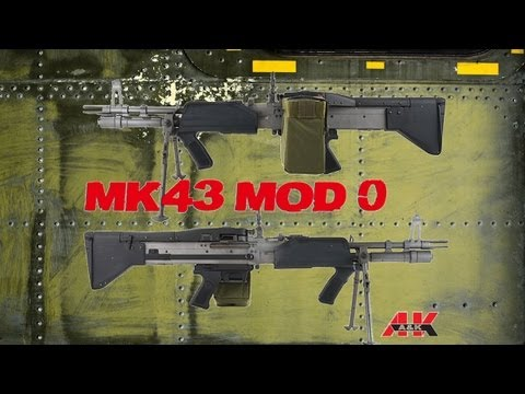 Airsoft Review A&K MK43 MOD 0 by crazyNCman