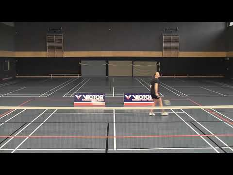 Badminton Schlagtechnik: Rückhand Clear Technik (Badminton How to Hit a Backhand Clear)