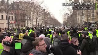 Gilets jaunes : des individus scandant des slogans antifas expulsés par des Gilets jaunes