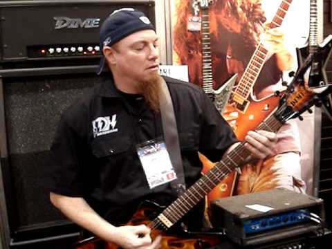 New Dimebag Darrell Amp Demo at NAMM 2009 By Grady Champion