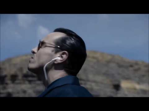 Moriarty jamming out to Wrecking Ball (helicopter entrance)
