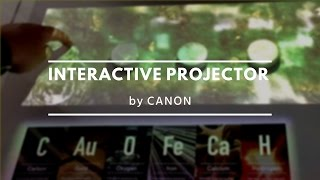 Canon Interactive Projector. Versatile Collaboration System (VCS) / Canon Expo 2015