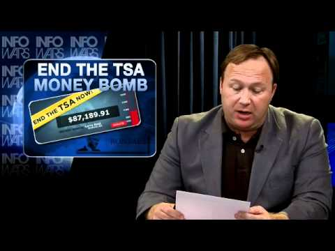 RAND PAUL HELD BY TSA AT NASHVILLE AIRPORT - INFOWARS NIGHTLY NEWS 1 24 2012 (FULL HQ)