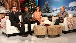The Cast of'Star Wars:The Force Awakens' Is Here!