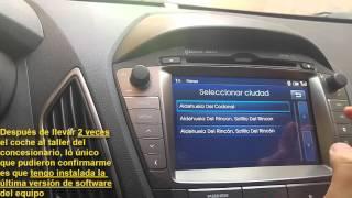 Problemas con navegador y manos libres instalados en coches Hyundai