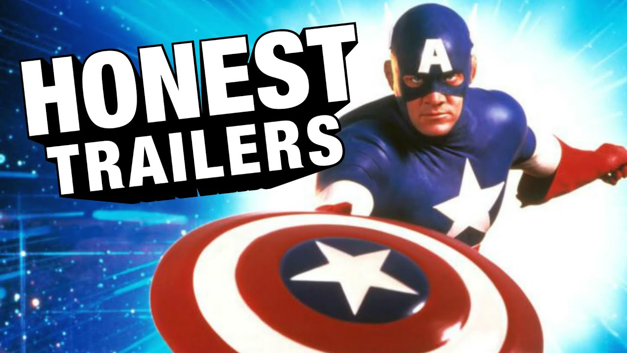[Captain America 1990 Gets The Honest Trailer Treatment] Video