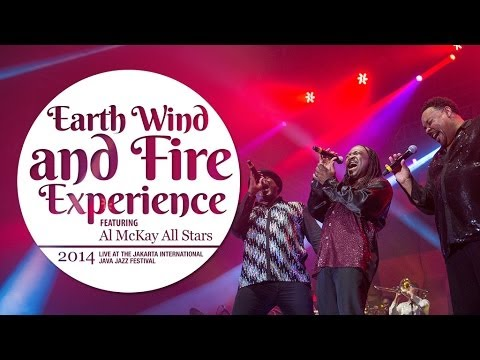 Earth Wind and Fire Experience Live at Java Jazz Festival 2014