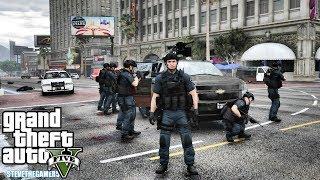 GTA 5 MODS LSPDFR -  SWAT!!! (GTA 5 REAL LIFE PC MOD)