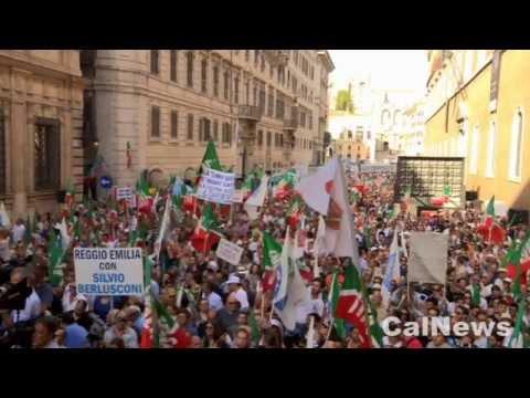 Roma :: 04/08/2013 :: Il discorso di Silvio Berlusconi da via del Plebiscito.