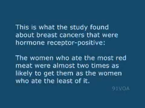 [91VOA]Study Links Red Meat to Higher Risk of Breast Cancer