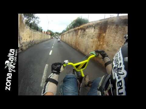 Drift Trike Barreira - Funchal 5.1km - Descida Louca