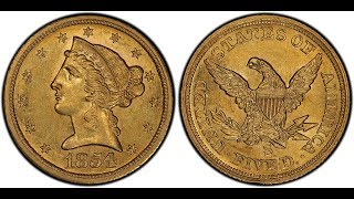 1854-S $5 Half Eagle Gold Coin Discovery Confirmed by NGC!
