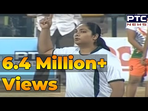 India Vs Pakistan | Women's | 2nd Semi Final | Pearls 4th World Cup Kabaddi Punjab 2013 video
