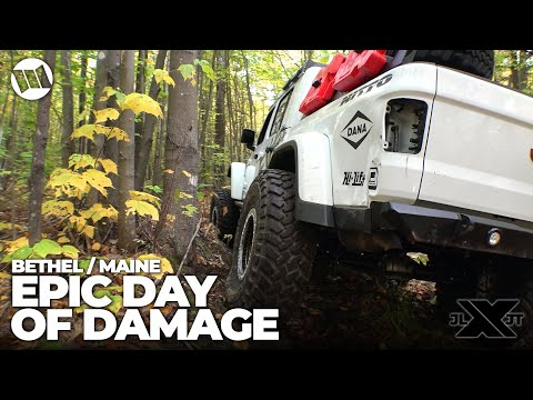 Jeep Gladiator Truck Overland by EVO Bethel Maine Off Road Carnage Nitto JL JT Experience Part 7