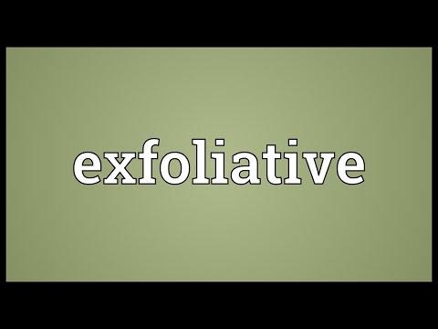 Header of exfoliative