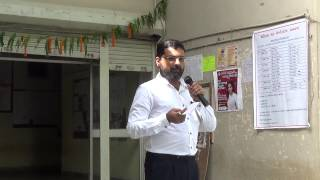 Principal's speech on Independence Day 2015