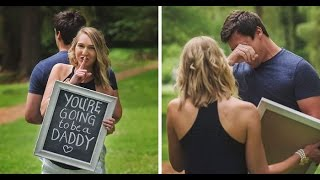 Wife Surprised Her Husband With Pregnancy in Very Sweet way