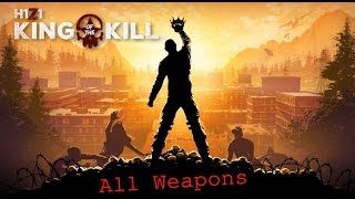 H1Z1 | All Weapons Showcase | [First Person Only]