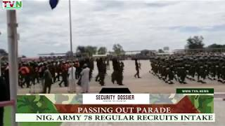 PASSING OUT PARADE OF NIGERIAN ARMY 78 REGULAR RECRUITS INTAKE