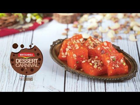 How To Make Bombay Halwa | Bombay Karachi Halwa Recipe | Britannia Dessert Carnival
