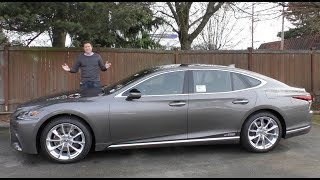 The 2018 Lexus LS 500 Is the $120,000 Ultimate Lexus Sedan