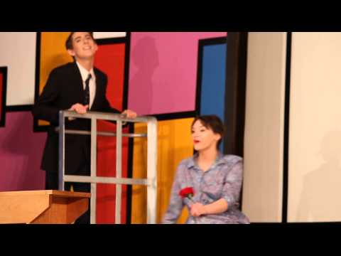 Casi Arnold Singing In Bye Bye Birdie With Carly Taylor - Meigs High School 2013   Part 2
