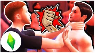 HOUSE PARTY GONE WRONG! Let's Play The Sims 4 Hampton Falls [ Part 13 ]