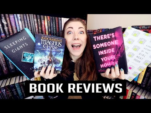 BOOK REVIEWS // MAGNUS CHASE. SLEEPING GIANTS. A SHORT HISTORY OF THE GIRL NEXT DOOR