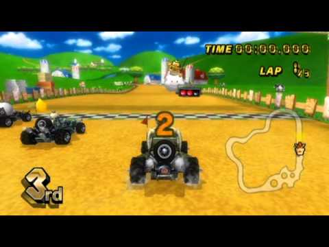 Mario Kart Wii - - Online Races 88: Off-Road Madness