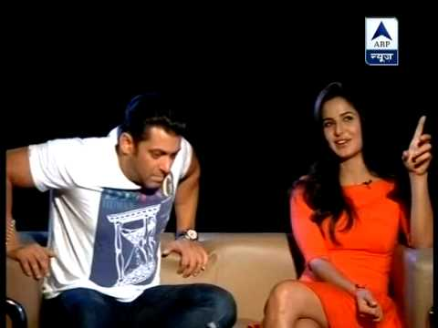 Salman Khan And Katrina Kaif Exclusively Speak To Abp News video