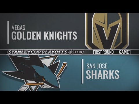 NHL Playoffs |  Vegas At San Jose | Сан-Хосе Вегас | НХЛ Плей-офф