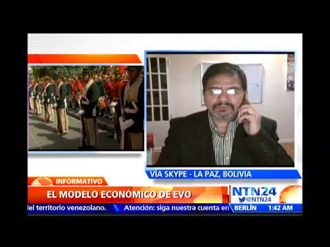 """""""Bolivia tiene que ser consciente que la bonanza externa está acabando"""