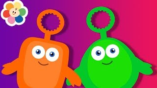 Videos Educativos Para 2 - 3 Anos   Desenhos Animados Para Bebes com Bloop e Loop   BabyFirst Brasil