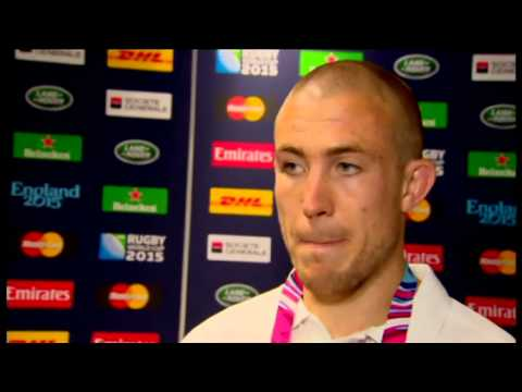 Mike Brown - Post match interview - Wales v England - World Cup 2015