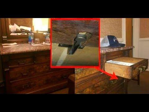 Мужчина нашел скрытую Кнопку в Гостинице под комодом! И тут произошло это…