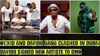 Wizkid And Davido's Team Clashed In Dubai?, Davido Signs Peruzzi To DMW