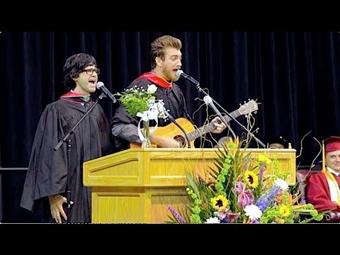 HS Graduation Speech - Rhett & Link